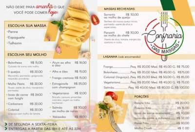 Informe comercial - Confraria das Massas: não deixe para amanhã o que você pode comer hoje