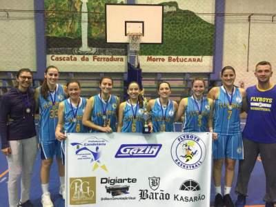 Basquete: Flyboys vence Liga Municipal no feminino