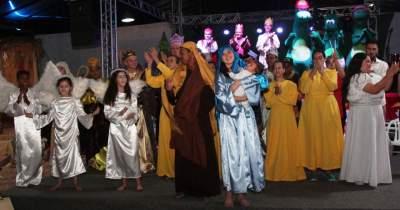 Encenação do Presépio Vivo encerra o Natal das Candeias 2019
