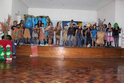 Cooperativa de teatro Cooper Arte & Manha esteve presente na solenidade
