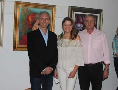 Paulo Butzge, Lisete Gewehr e Nestor Ellwanger