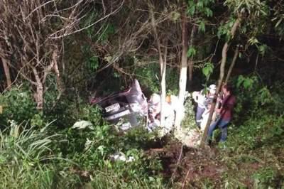 Acidente resulta em uma morte e três pessoas feridas na RSC-287