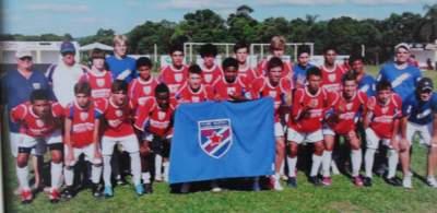 Categoria Juvenil do Atlético - Campeão Regional em 2012 - Arquivo Douglas Braga