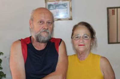 Primeiro presidente do Atlético, Rodolfo Feldmann e esposa Orilda Feldmann