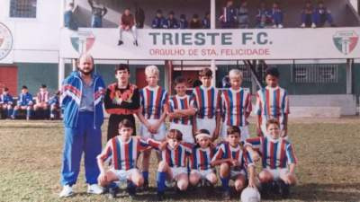 Amistoso do Atlético no Paraná contra o Trieste - Fotos: Arquivo Rodolfo Feldmann