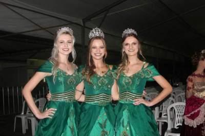 As soberanas de Cerro Branco: Daiane Lang, Vitória Priebe e Bianca Beskow