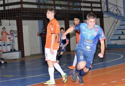 Liga Gaúcha de Futsal: sub 17 do Atlético derrota a ACBF, de Carlos Barbosa