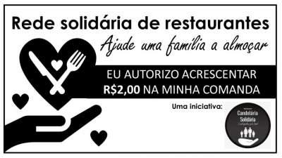 Restaurantes se engajam no movimento Candelária Solidária