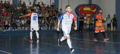 Estadual de futsal: Atlético derrota o Rabelo de Alvorada por 4 a 0