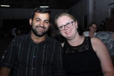 Estela Voigt e Fernando Brandão