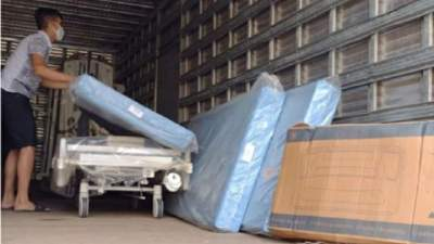 Secretaria da Saúde entrega equipamentos para abrir 35 novos leitos de UTI Covid no RS