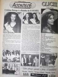 Na Folha, destaque para as vencedoras a Rainha e Princesas da II Femel