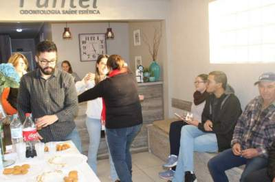 Coquetel para autoridades, amigos e pacientes marcou a abertura do posto de coleta