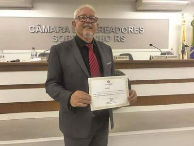 Ex-prefeito Lauro Mainardi é homenageado em Sobradinho