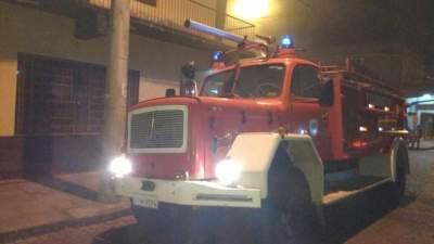 Bombeiros Voluntários retornavam de outra ocorrência e chegaram em minutos no local - Crédito: Arzélio Strassburger - Corpo de Bombeiros Voluntár