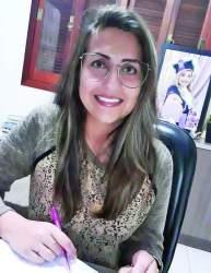 Carine Porto Ellwanger, professora e pedagoga.