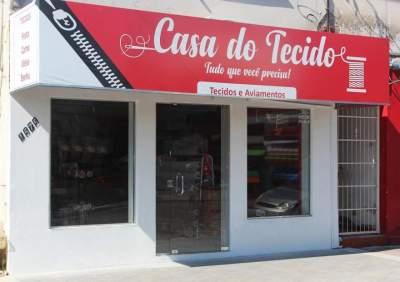 Informe comercial: Casa do Tecido, uma loja exclusiva para tecidos e aviamentos