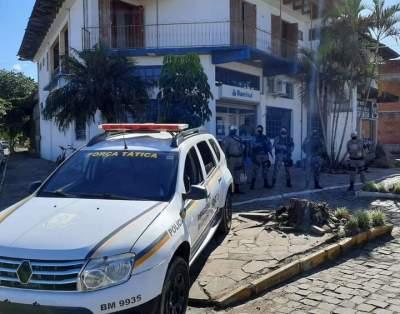 BM de Cachoeira do Sul reforça o policiamento ostensivo em Cerro Branco e Cabrais
