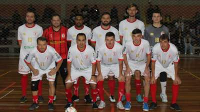 A equipe do Posto Potrich/Lojas Braatz