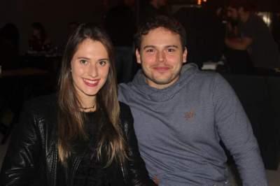 Luana Tavares e Júnior Barbosa