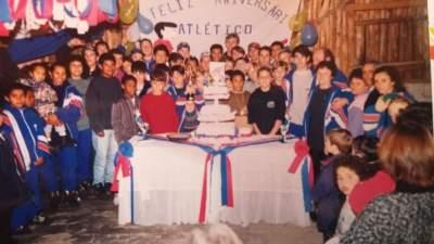 Aniversário do Atlético - Arquivo Rodolfo Feldmann
