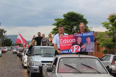 Edson Lawall vence em Cerro Branco