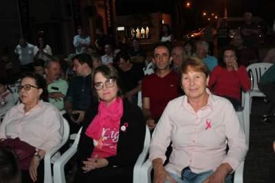 Representação da Liga Feminina de Combate ao Câncer marcou presença