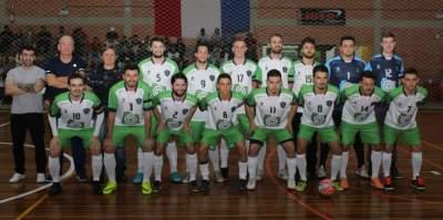A equipe do UGF (Us Guris Futsal)