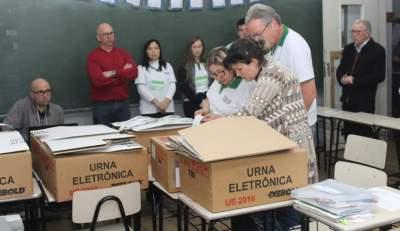 A apuração dos votos aconteceu no Colégio Medianeira