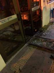 Criminosos atacam agência do Banrisul em Cerro Branco