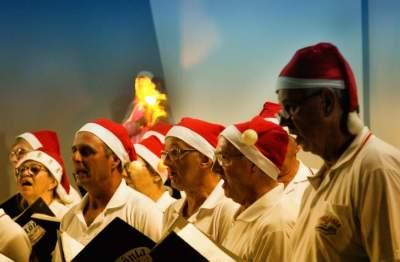 Show natalino reúne coralistas de Candelária e Teutônia