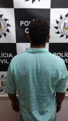 Polícia prende suspeito de roubo na Linha Travessão