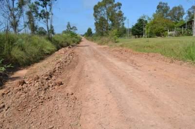 Trecho não pavimentado da ERS 410 tem 28 km de extensão