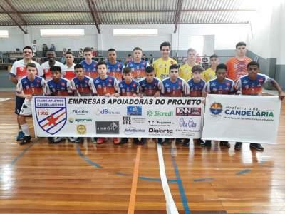 Gauchão de Futsal: Sub 15 da Korpus/Atlético estreia com duas vitórias
