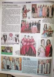 Notícia da Folha destacando as vencedoras de 2017