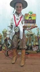 Emanuely Barbosa conquista o segundo lugar em competição nacional