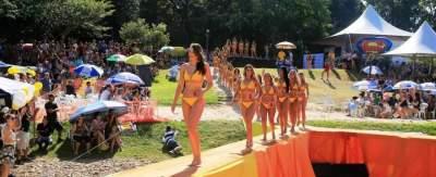No cenário natural da Prainha, evento se consolida a cada ano como o mais importante concurso de beleza do verão no estado
