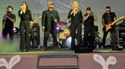 Show da banda Eletro Rádio foi destaque da abertura da Chococande