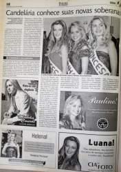 Na Folha, destaque para as vencedoras de 2006
