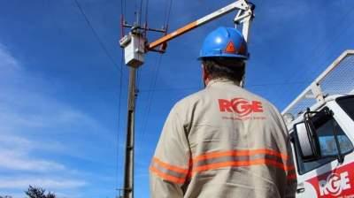 RGE alerta para desligamento de energia elétrica na região