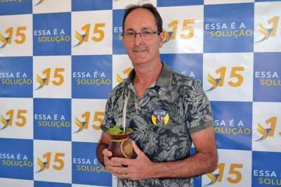 Sérgio da Rosa: envolvimento com Novo Cabrais desde antes da emancipação