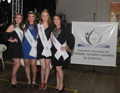 As soberanas de 2016: Laise, Camila, Caroline e Bruna