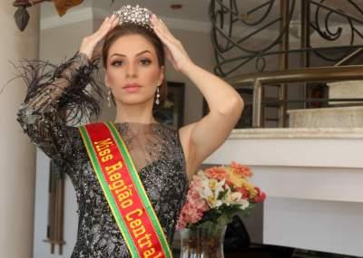 Princesa do município se prepara para o Miss Latina Brasil
