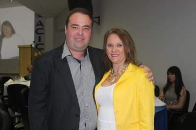 Alan Wagner e Carine Carvalho