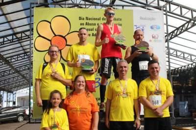 Premiação 40/44 anos masculino 4km