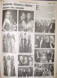 Na Folha, destaque para as vencedoras do concurso de 2008