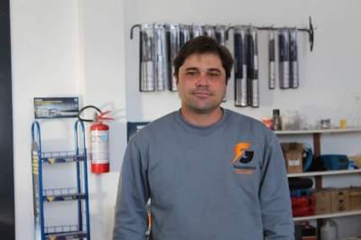 O proprietário Guilherme Afonso Gewehr