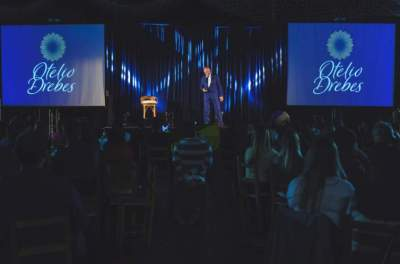 Fundador das Lojas Lebes realiza palestra no Clube Rio Branco