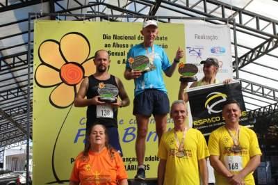 Premiação acima de 65 anos masculino 4km
