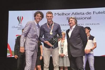 Douglas Friedrich é eleito o melhor atleta profissional em Santa Catarina